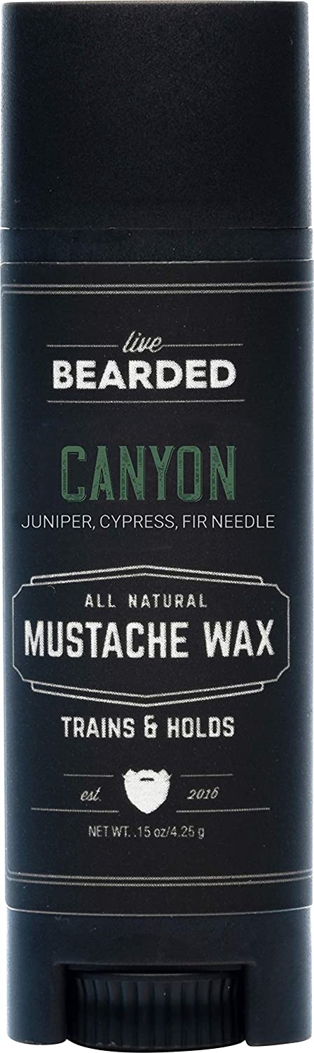 Live Bearded: Mustache Wax - Canyon 1 Medium Hold Sales Tube Department store All