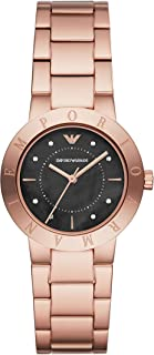 Emporio Armani Women's Quartz Watch analog Display and Stainless Steel Strap, AR11251