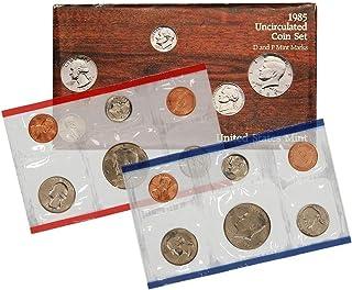 1985 P & D US Mint 10-Coin Mint Set Uncirculated