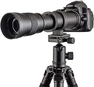 Fotga 420-800mm f / 8.3-16 Manual Super Telephoto Zoom Lens + T2-Canon for Canon EOS 1D 5D II III IV 6D 7D 40D 50D 60D 100...