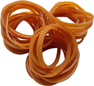 AxeSickle (100 per Bag) Rubber Bands, Durable Elastic Rubber Bands General Purpose Rubber Bands for Home or Office use.