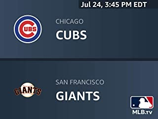 Chicago Cubs at San Francisco Giants