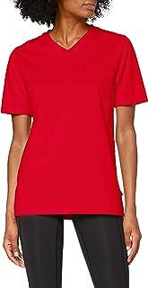 Trigema Damen V-Shirt Deluxe Baumwolle T Donna