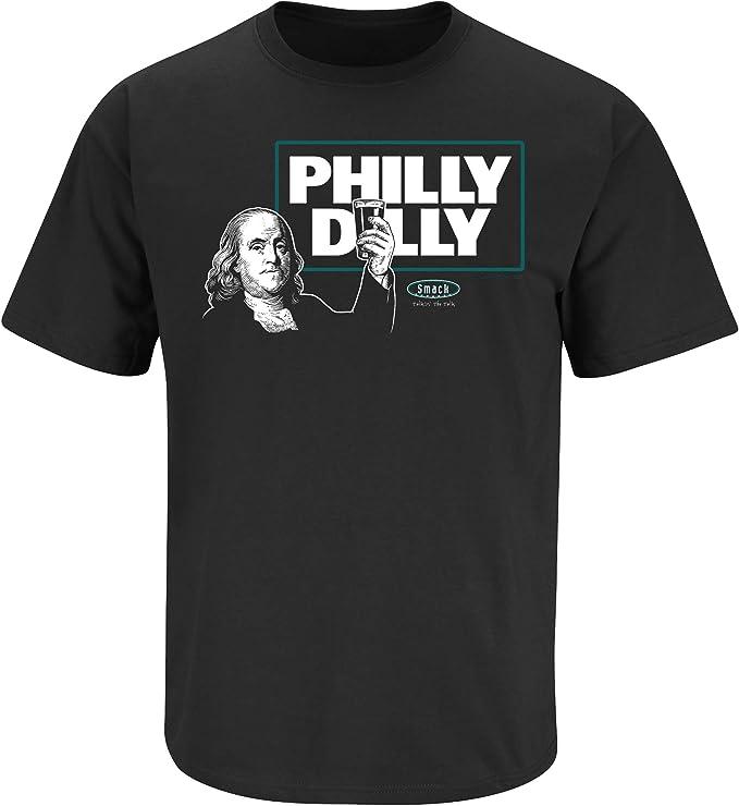 Philadelphia Football Fans Sm-5X Straight Outta Philly Black T-Shirt