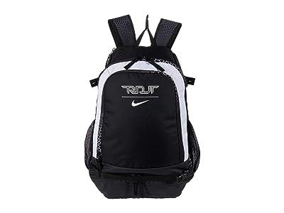Nike Trout Vapor Backpack All Over Print (Black/Black/White Multi Snake) Backpack Bags