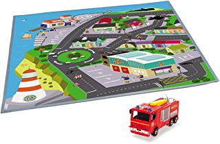 Simba Dickie Fireman Sam Playmat, Multi-Colour