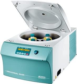 Hettich 1406-01 Universal 320R Refrigerated Benchtop Centrifuge, 346 x 401 x 695mm (H x W x D), -20 to 40 Degree C, 1 sec to 99 min, 59 sec, 15000 rpm