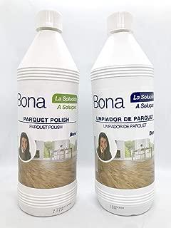 Bona - Pack Limpiador Parquet 1 L + Abrillantador Parquet 1 L