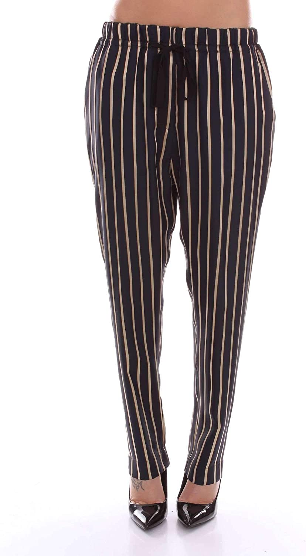 FORTE FORTE Women's 5426blueeEBEIGE blueee Other Materials Pants