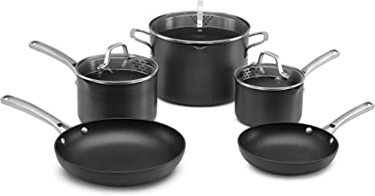 Calphalon 1943340 Classic Cookware Set, 8-pc, Grey