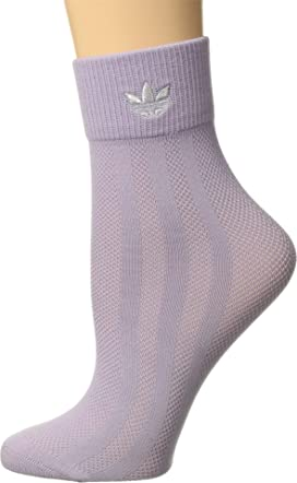 ecd248d3e adidas Originals Originals Lurex II Single Quarter Sock at Zappos.com