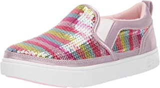 rainbow sequin sneakers