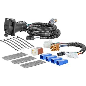 amazon.com: curt 56357 vehicle-side custom rv blade 7-pin trailer wiring  harness for select nissan pathfinder, infiniti qx60: automotive  amazon.com