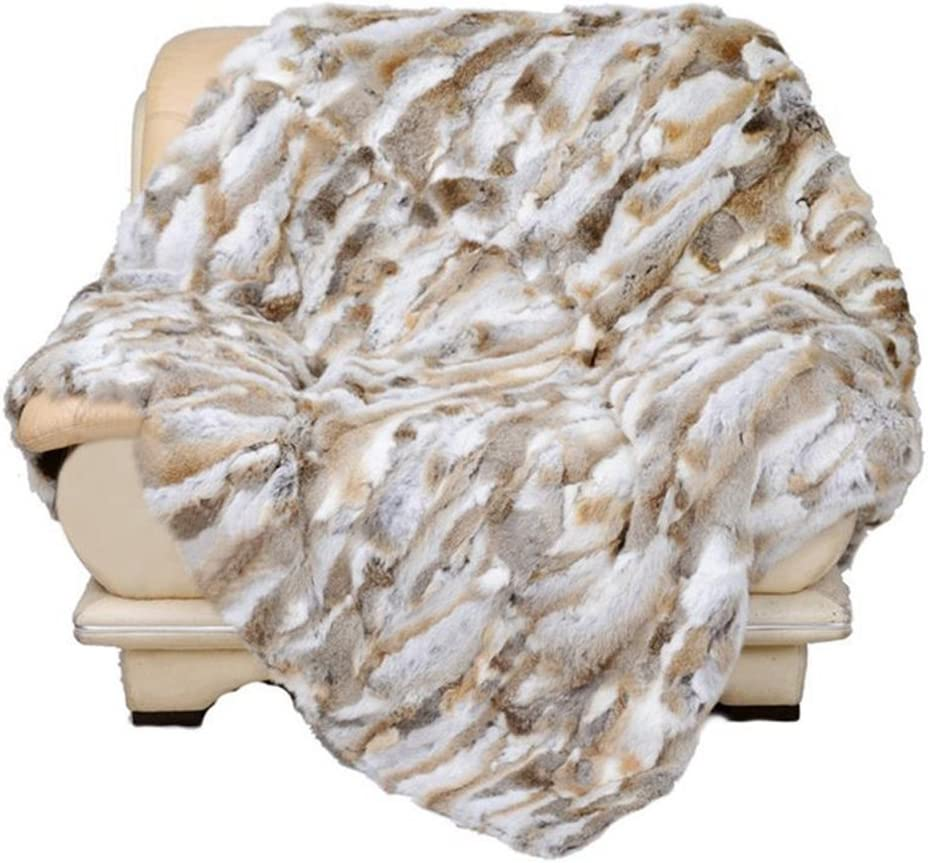 Manka Vesa Real Rabbit Spring new work one Ranking TOP14 after another Fur Blanket Buy Hot Bed Good Rug