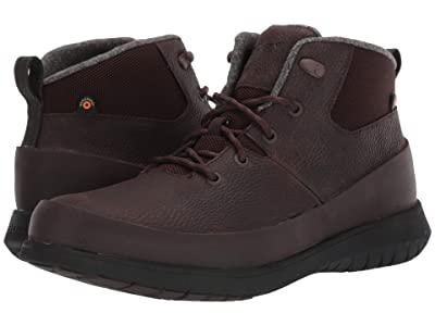 Bogs Freedom Lace Mid (Dark Brown) Men
