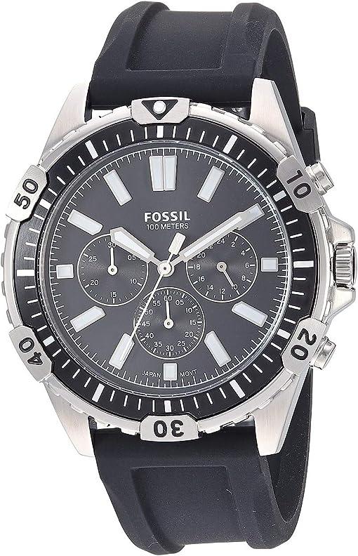 FS5624 Silver Black Silicone