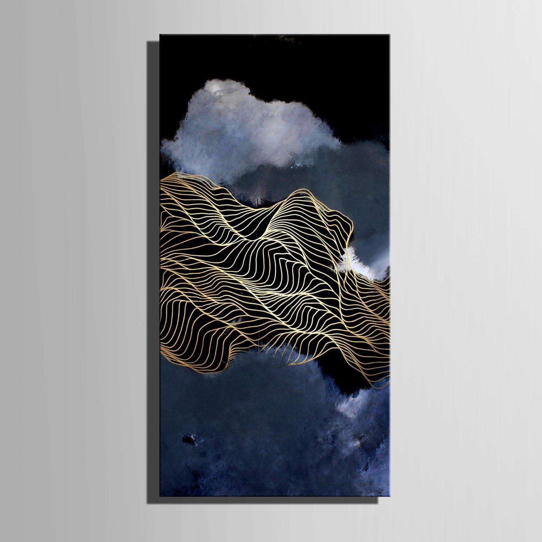 LTQ&QING new-Ausgestreckte Leinwand Kunst Abstrakte Linie Landschaft Dekoration Malerei, rahmenlose rahmenlose rahmenlose Malerei, 30601 B07CSJN253  | Ausgezeichnete Leistung  6be0ee