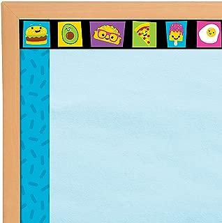 Fun Express - Funtastic Food Friends Bb Border - Educational - Classroom Decorations - Bulletin Board Decor - 12 Pieces