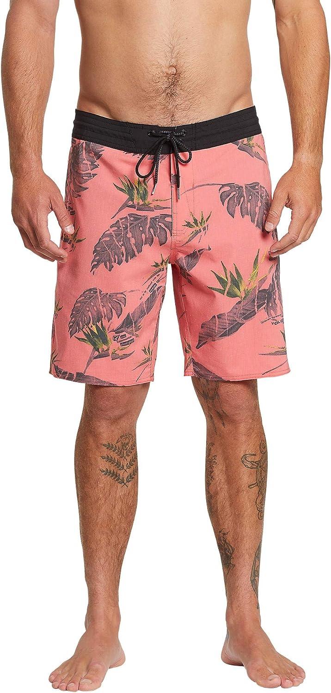 Volcom Men's Standard Floral Erupter Stoney 19' Boardshort