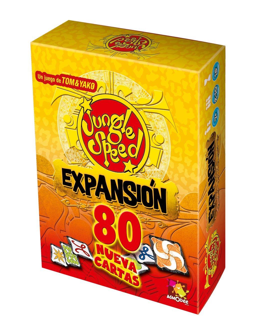 Asmodee- Juego de Mesa Jungle Speed Expansion (JS02ES): Amazon.es: Juguetes y juegos