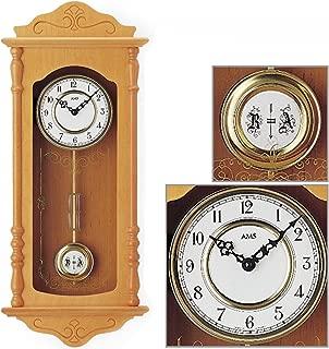 AMS Uhrenfabrik Clock, Silver, 68 x 10 x 285 cm