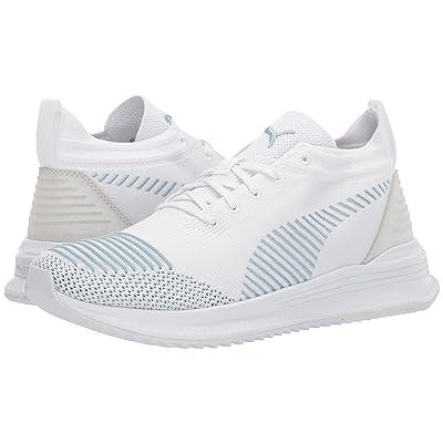 PUMA Avid Nu Knit (Puma White/Light Sky) Shoes