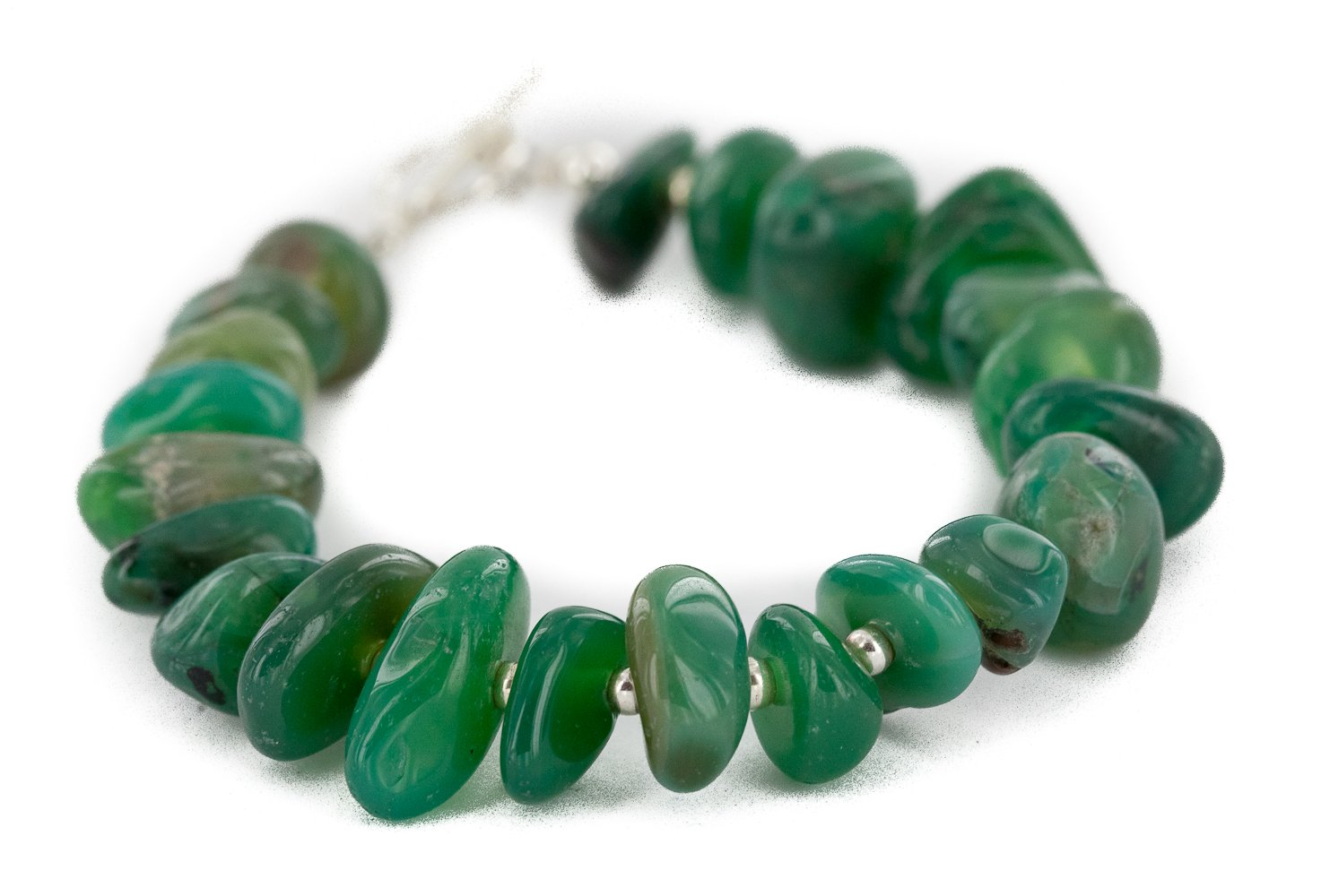 Certified Boston Mall Authentic Navajo Natural Native American Opening large release sale Jade Bracelet