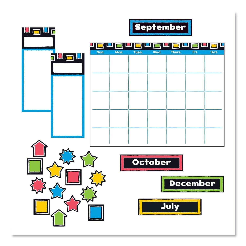 TREND Finally popular brand security enterprises Inc. T-8392 Bold Bu Calendar Strokes Wipe-Off