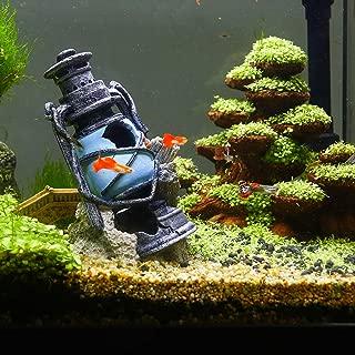 boxtech Aquarium Decor Tank Decorations, Fish Tank Bubbler Decorations Ornaments for Small Fish Pets to Swim/Play/Hide/Breeding