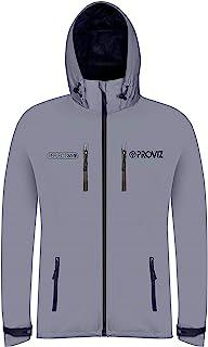 Proviz Men's Reflect 360 Outdoor Jacket-Silver/Black