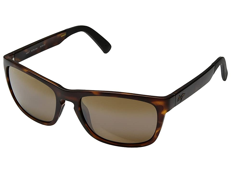 Maui Jim South Swell (Matte Tortoise/HCL Bronze) Athletic Performance Sport Sunglasses