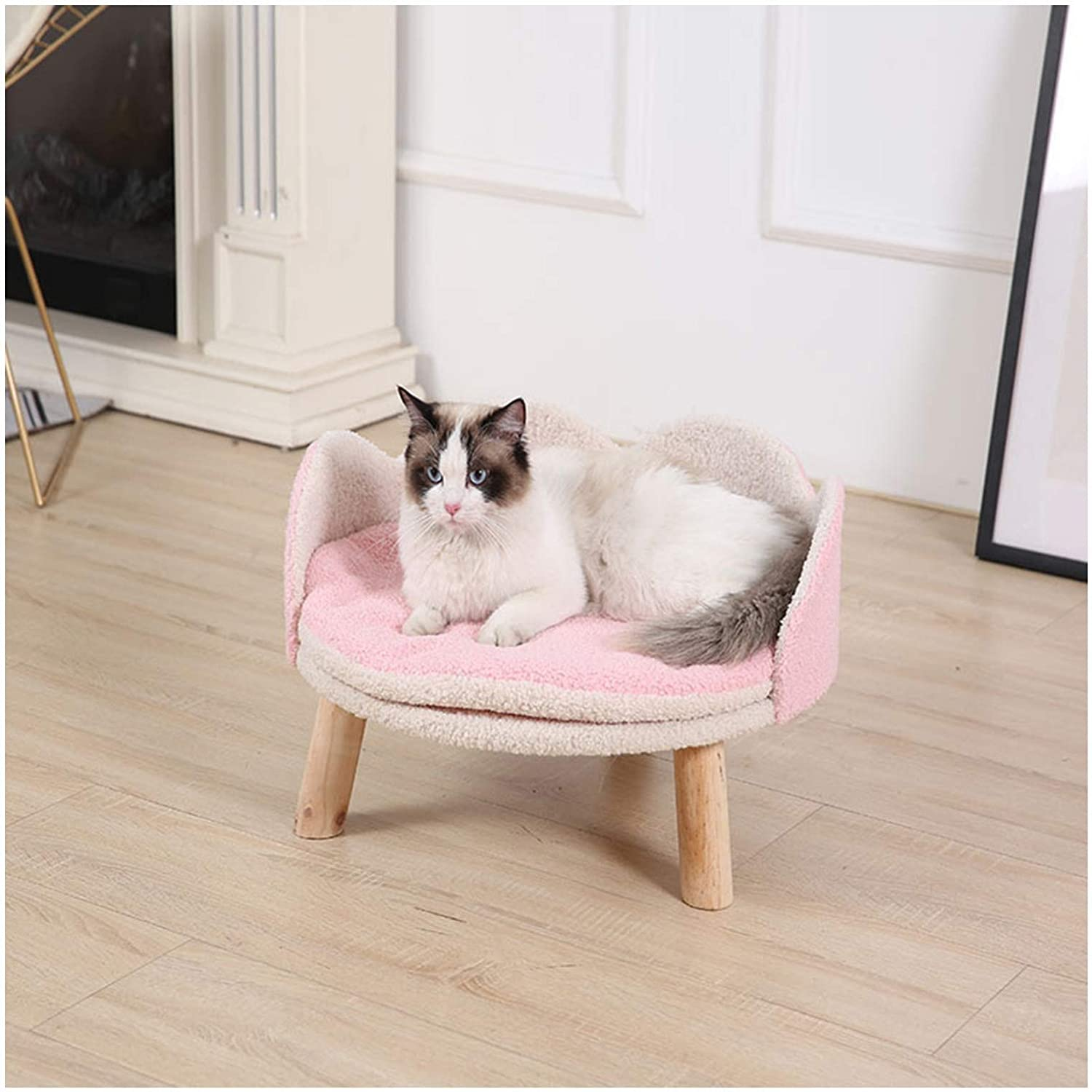 Cat Bed for Indoor Improved Non-Slip Nest Sleep OFFicial site Pet Self Challenge the lowest price of Japan ☆