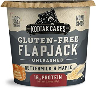 Sponsored Ad - Kodiak Cakes Pancake On The Go Breakfast Snack, Gluten Free Buttermilk & Maple, 2.16 Oz (Pack Of 12)…