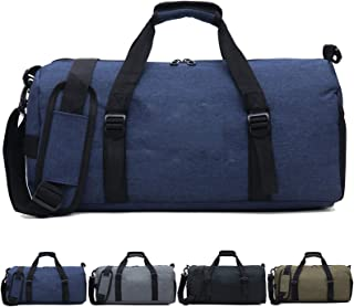 Sports Gym Bag Travel Duffle bag with Wet Pocket and Shoes Compartment Sports Duffel Bag for Workout Women and Men Gym Wom...