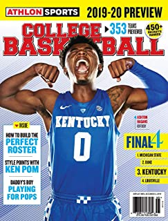 ATHLON SPORTS COLLEGE BASKETBALL MAGAZINE, FINAL-4 ISSUE, 2019 VOL. 26 ( PLEASE NOTE: ALL THESE MAGAZINES ARE PET & SMOKE FREE MAGAZINES. NO ADDRESS LABEL. FRESH FROM NEWSSTAND) (SINGLE ISSUE MAGAZINE)