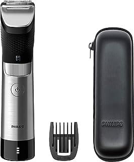 Philips Baardtrimmer Series 9000 Prestige - 30 Lengte instellingen - Precisie van 0,2 mm - Batterij-indicator -120 Minuten...