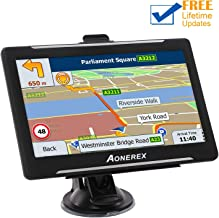 GPS Navigation for Car, Aonerex 7 inch 8GB&256MB GPS Navigation System,Spoken Turn- to-Turn Traffic Alert Vehicle Car GPS Navigator,Lifetime Free Map Updates