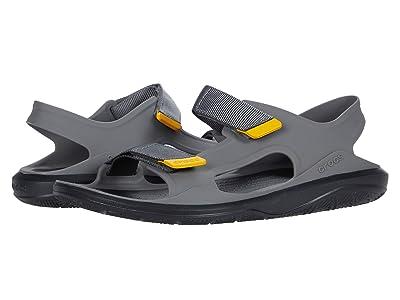 Crocs Swiftwater Expedition Sandal (Slate Grey/Black) Men