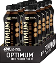 Optimum Nutrition Protein Shakes Chocolate Ready To Drink 50g High Protein with no added sugar carb 10 x 500 ml Estimated Price : £ 29,99