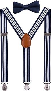 SUNNYTREE تعلیق بچه گانه قابل تنظیم Y Back با ست کراوات کراوات