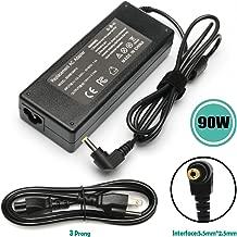 90W AC Adapter Laptop Charger PA5035U-1ACA PA-1900-04 Replacement for Toshiba Satellite L775 L745 L755 L305 L305D L455 L505 L505D L635 L655 L655D L855 A105 A135 C655 C855 PA3714U-1ACA Power Cord