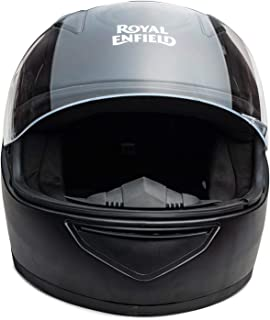 Royal Enfield Black Full Face With Visor Helmet Size (XL)62 CM (RRGHEK000021)