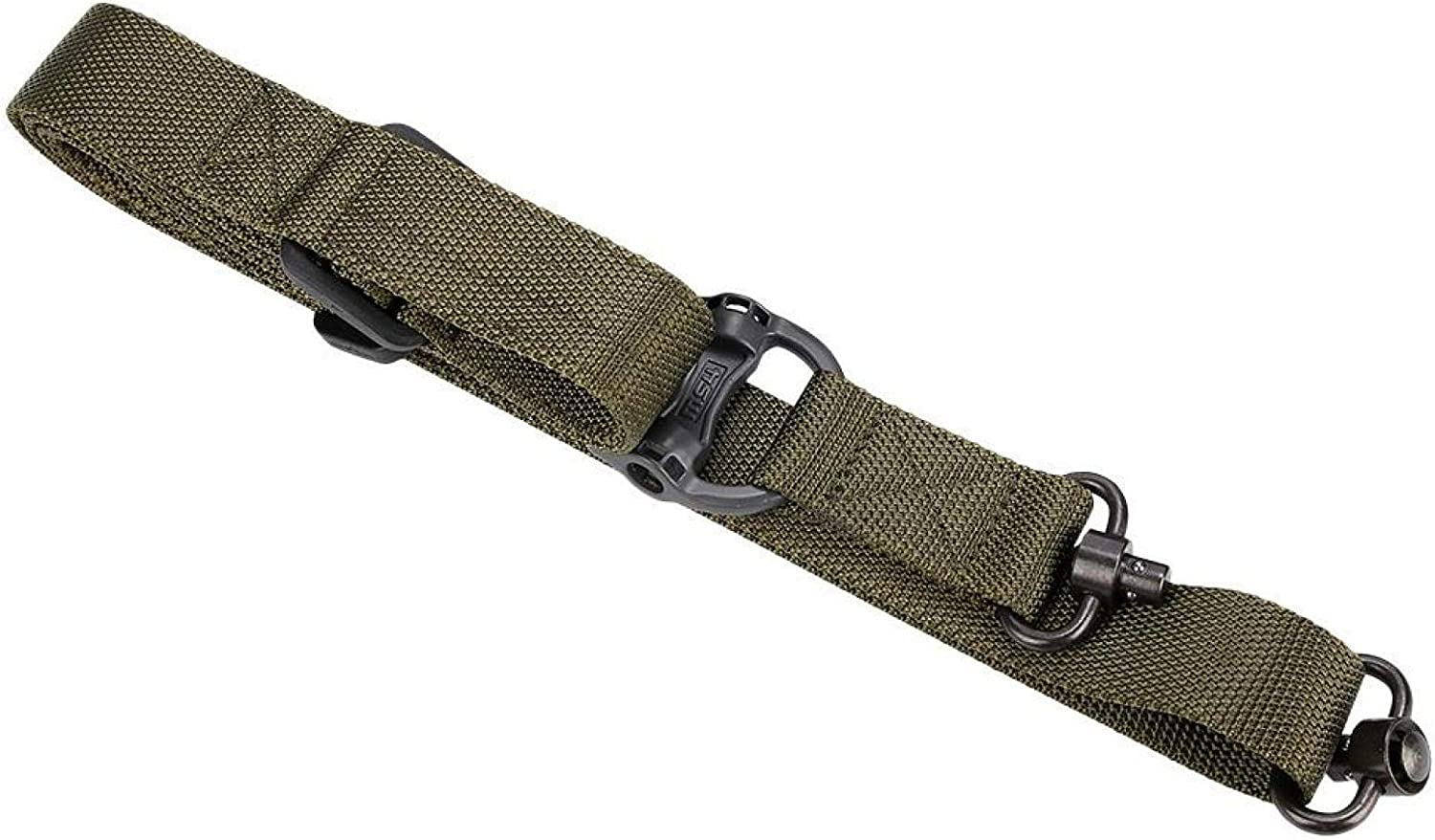 Army Green SALUTUYA 2 Punkte Waffeng/ürtel Fast Transition Tactic Dual-Point Mission Sling System Nylon mit hoher Dichte f/ür die Jagd