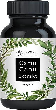 Camu-Camu Kapseln - Natürliches Vitamin C - Vergleichssieger 2018* - 180 vegane Kapseln im 6 Monatsvorrat - Ohne unerwünschte Zusätze - Laborgeprüft und hergestellt in Deutschland