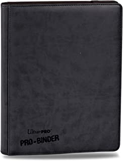 Premium PRO-BINDER 9-Pocket Cards, Black (Design may vary)