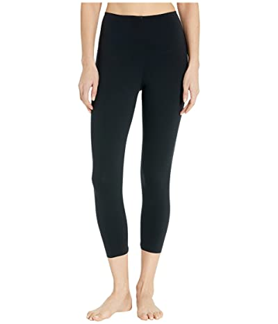 Commando Fast Track Capri Leggings FF401 (Black) Women