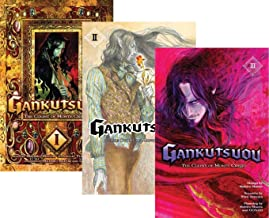 Gankutsuou: The Count of Monte Cristo Graphic Novel Set Vol.1-3