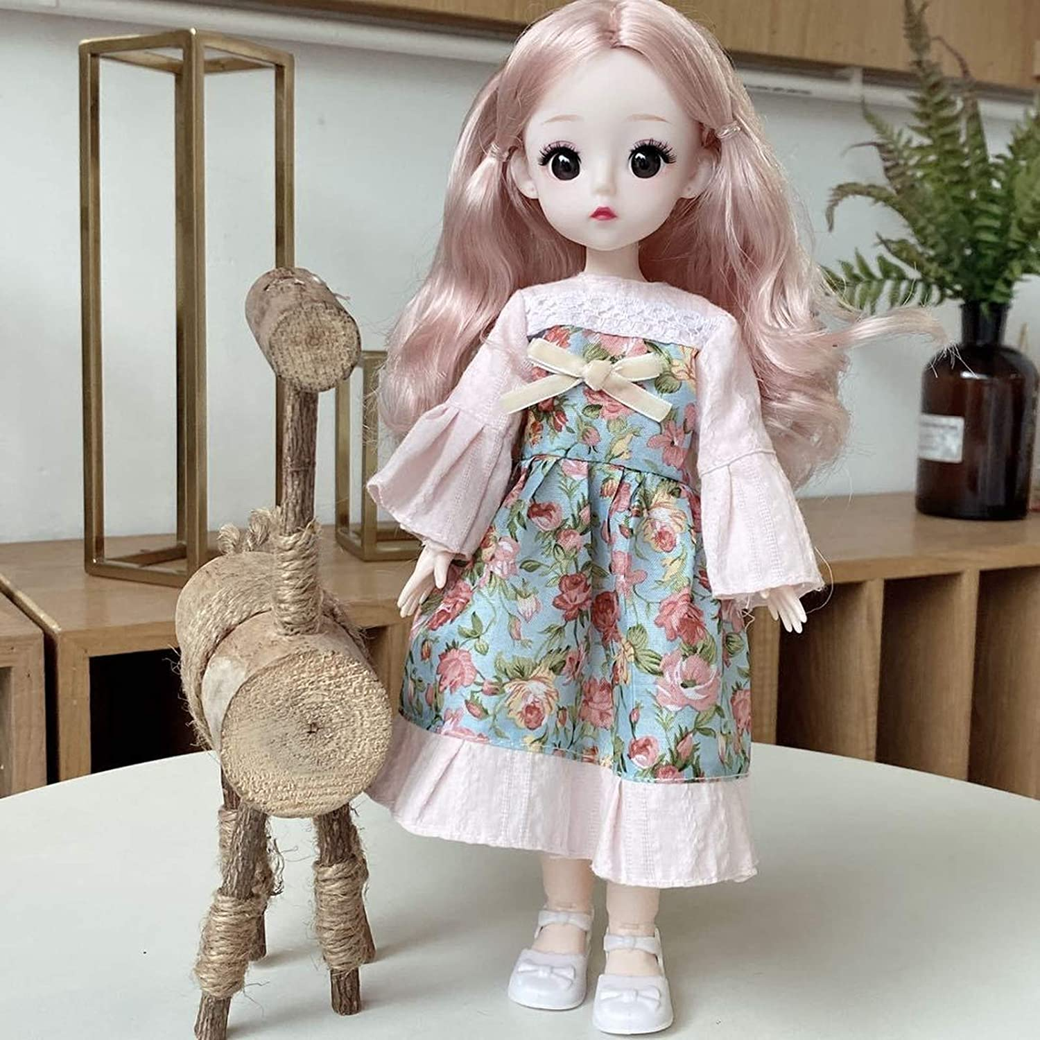 The New 30cm unisex Manufacturer regenerated product Doll Play Birthday Toy House Gift