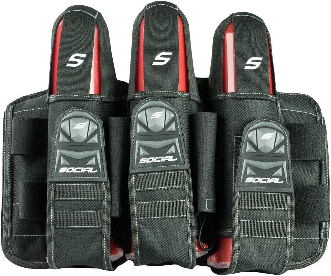 Social Paintball Luxury goods Grit Pod Pack Reservation Black H 3+6 Stealth Harness