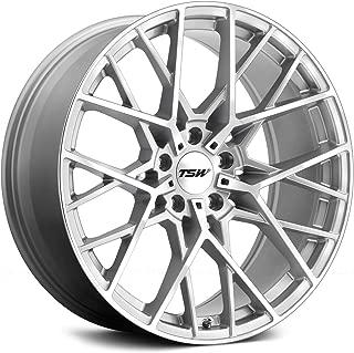 TSW Sebring 17x8 5x114.3 +40mm Silver/Mirror Wheel Rim